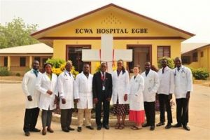 ECWA School of Nursing Past Questions