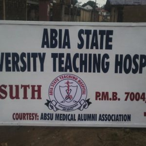 Abia State University Teaching Hospital Past Questions