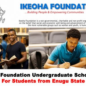 Ikeoha Foundation Scholarship past questions